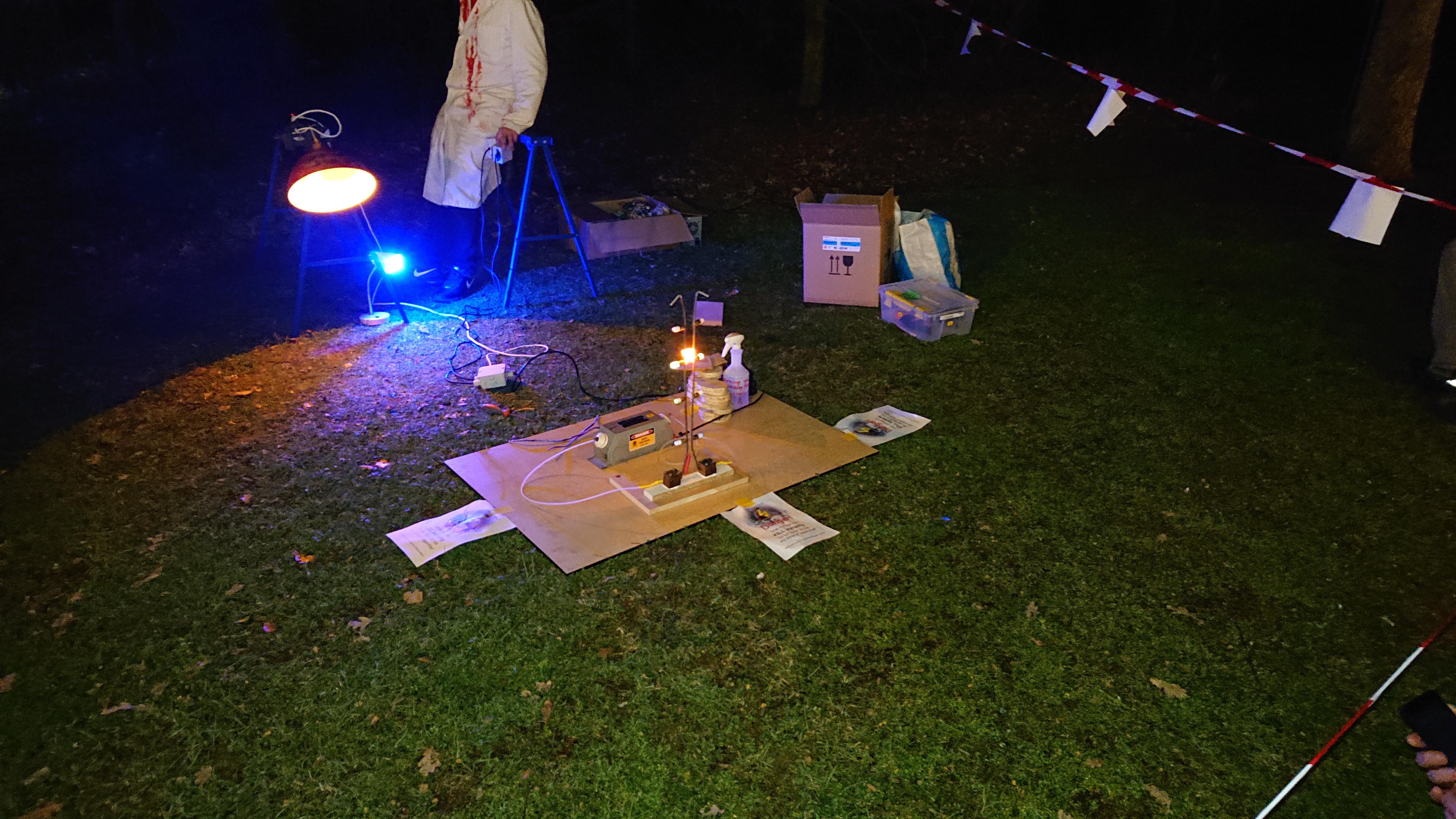 HV experiment