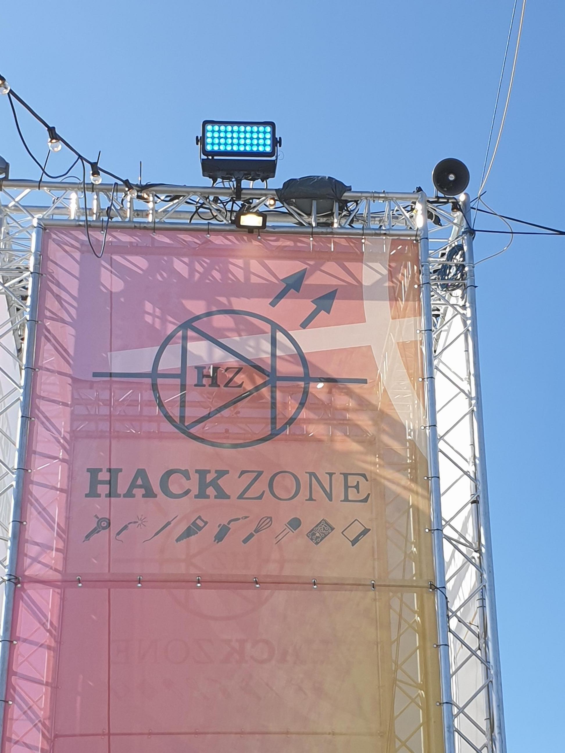 Welkom bij Hackzone / Campzone