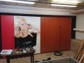Wand met panelen