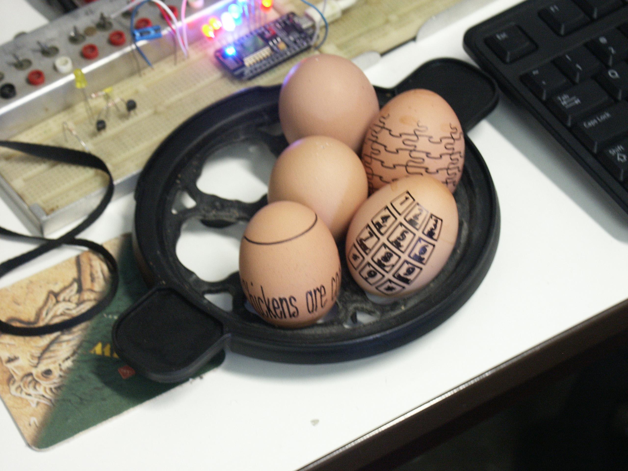 Resultaat eggbot