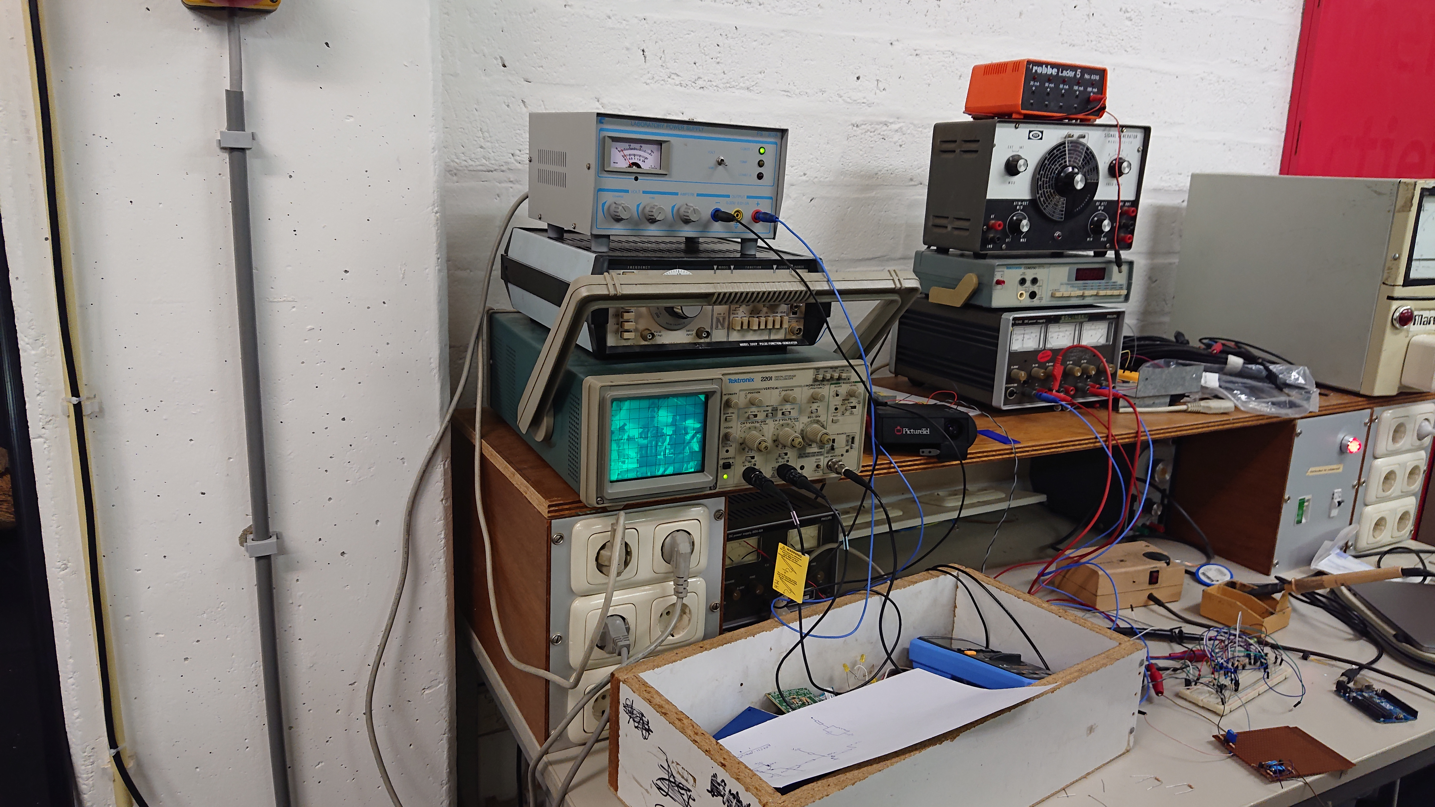Video on Oscilloscope
