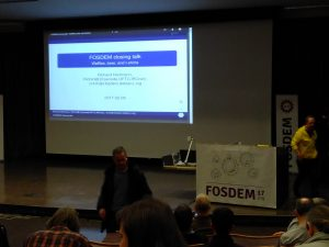 FOSDEM closing talk 2017